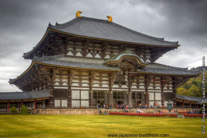 Todai-ji in Nara, shelters the Great Buddha