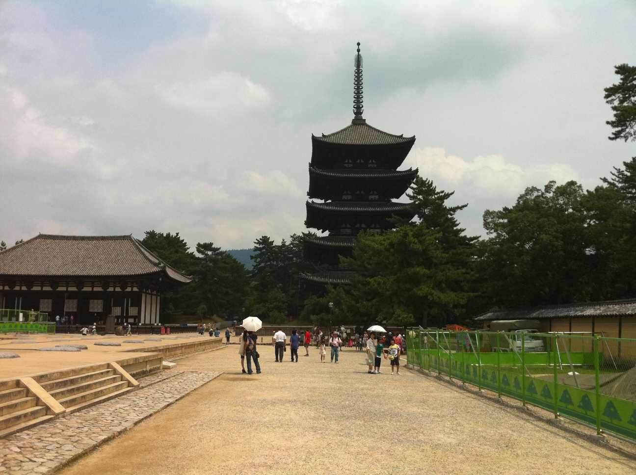 Pagoda at Horyu-ji in Nara