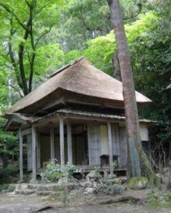 a Shoja, a cottage for a hermit