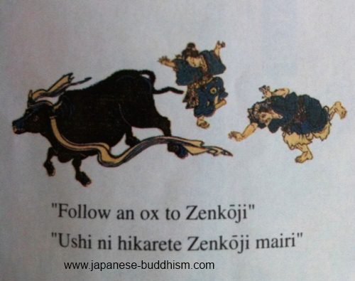 Follow an Ox to Zenkoji