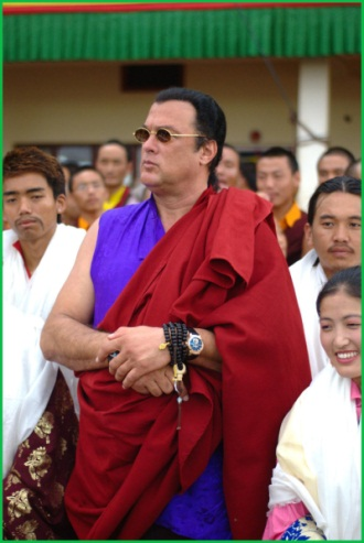 Steven Seagal, reincarnation of a Lama