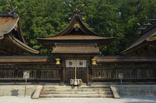 The Kumano Honju Grand Shrine