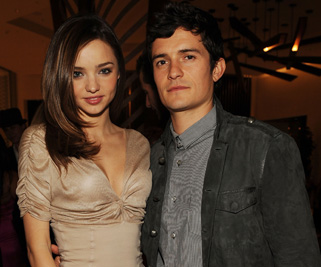 Orlando Bloom and Miranda Kerr got engaged in June 2010