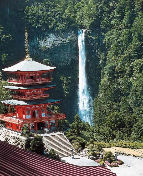 Nachi Water fall is part of Kumano Kodo