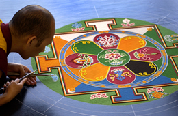 the impermanence of the sand Mandala